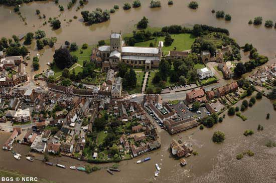 flood reduction in suds