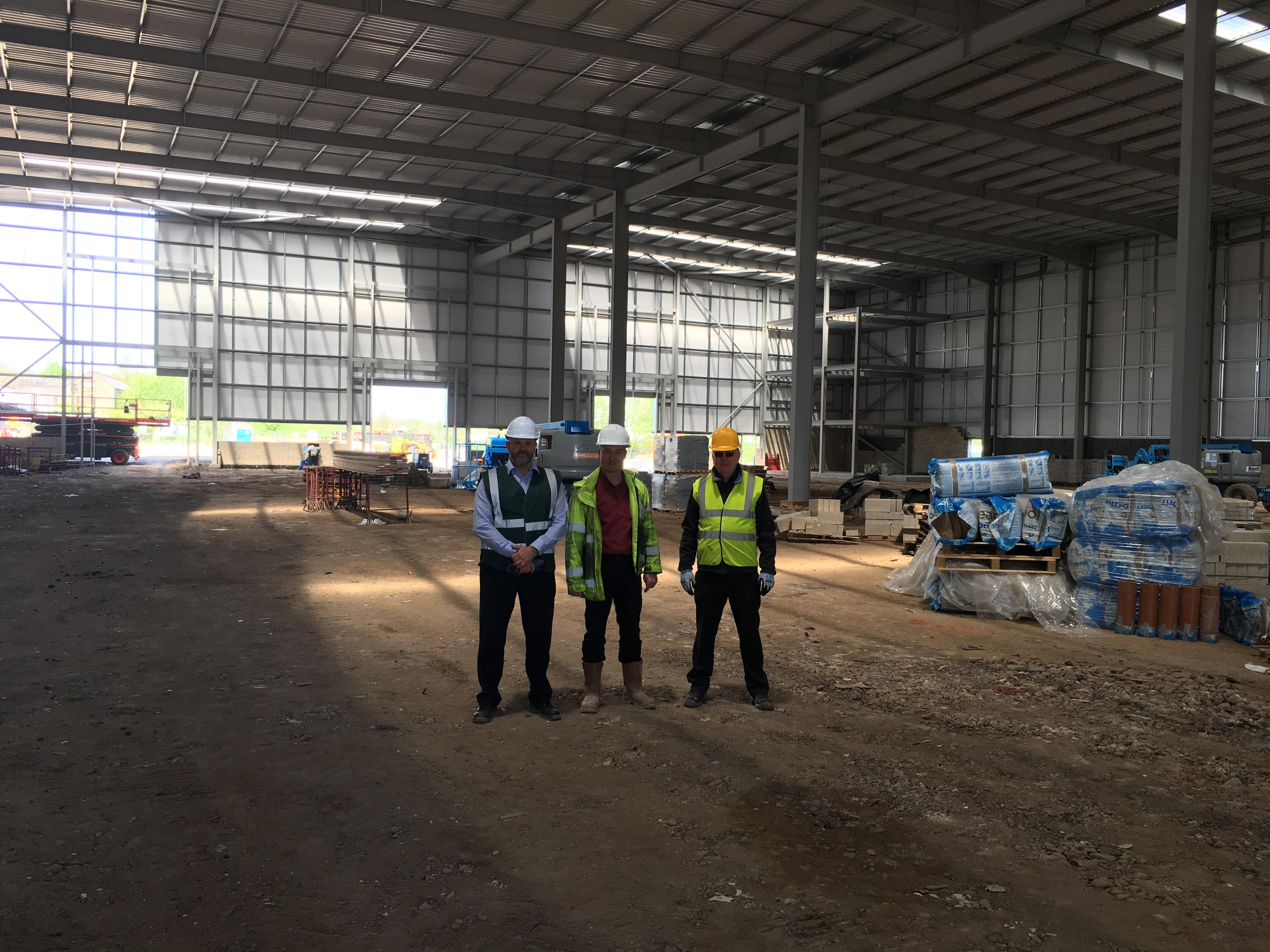 iko_polymeric_new_warehouse_progress